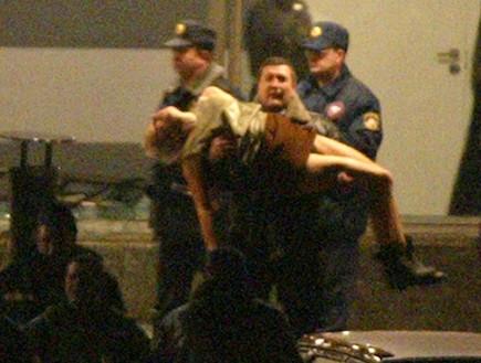 משבר בני הערובה בתיאטרון במוסקבה (צילום: Getty Images, GettyImages IL)