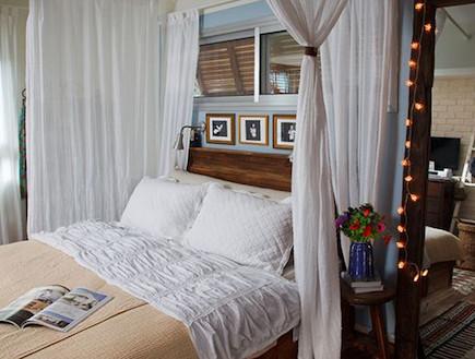 חדר שינה (צילום: שי אפשטיין)