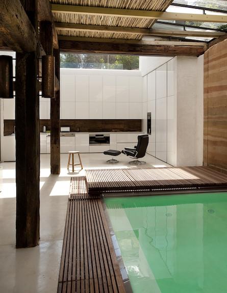פאבילון - בריכה 1 (צילום: Silvio Rech Lesley Carstens Architecture)