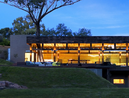 חזית הבית (צילום: Silvio Rech Lesley Carstens Architecture)