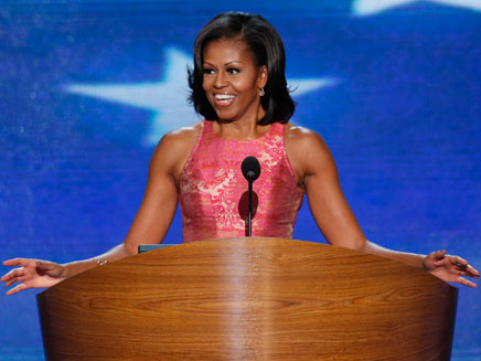 אמריקה מאוהבת, מישל אובמה, השבוע (öéìåí: רויטרס)