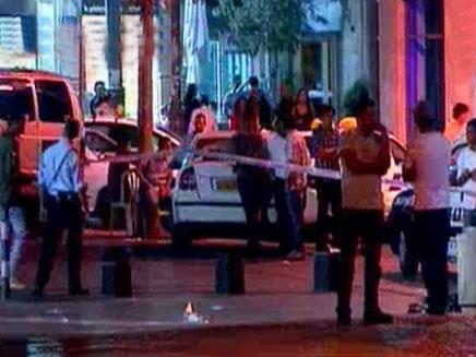 ניידות משטרה, שוטרים, אלימות (צילום: חדשות 2)