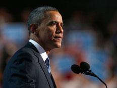 ברק אובמה בועידה הדמוקרטית 2012
