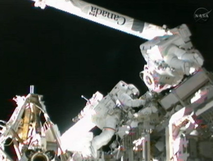 תחנת החלל הבין-לאומית (תמונת AVI: boingboing.net)