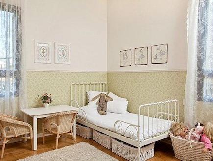 חדר ילדים. עיצוב: נועה פריד