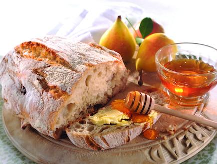 לחם תפוחים וקינמון (צילום: פיליפ מטראי, שמרית)