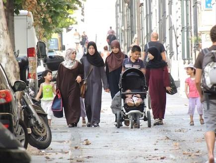מוסלמים במארסיי (צילום: עמית מנדלזון)