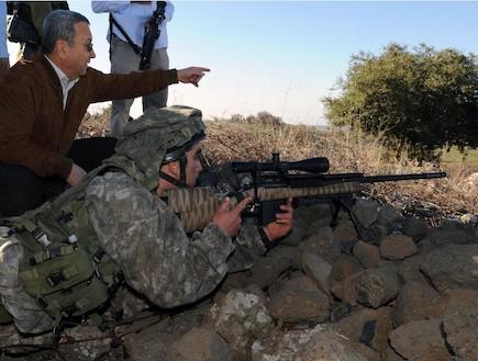 """רובה צלפים ברק (צילום: דובר צה""""ל, באדיבות גרעיני החיילים)"""