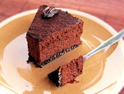 עוגת שוקולד-דבש (צילום: דליה מאיר, קסמים מתוקים)