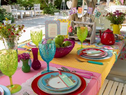 אורית זילברמן - שולחן שנה טובה (צילום: ליאור קסון)