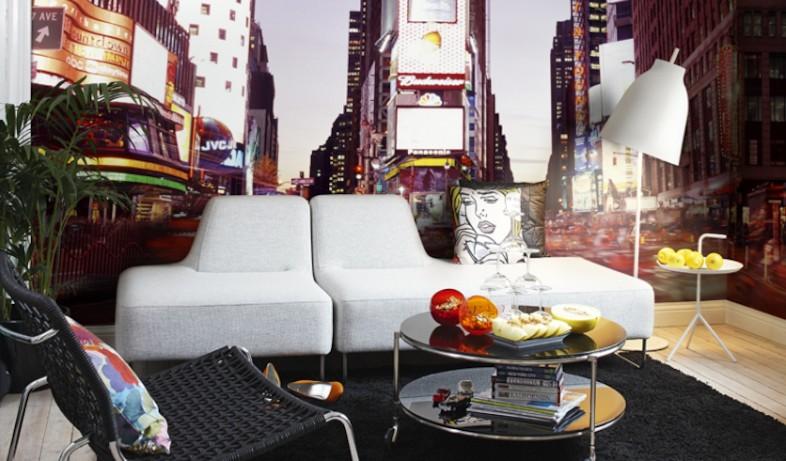 טפט טיים סקוור ניו יורק, מעודד צבעים (צילום: יחסי ציבור)