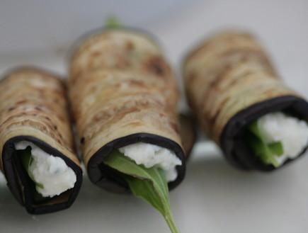 גלילי חצילים וזוקיני (צילום: אביטל סבג חורש - מומחית לרפואה טבעית , אוכל טוב)
