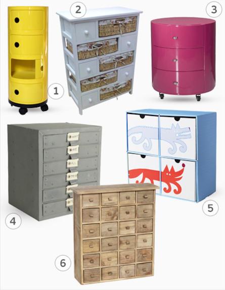 הוראות חדשות סדר בחדר: 10 טיפים לארגון ואחסון בחדרי ילדים EJ-02