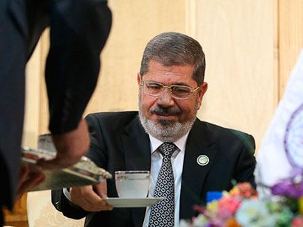 נשיא מצרים, מוחמד מורסי (צילום: רויטרס)