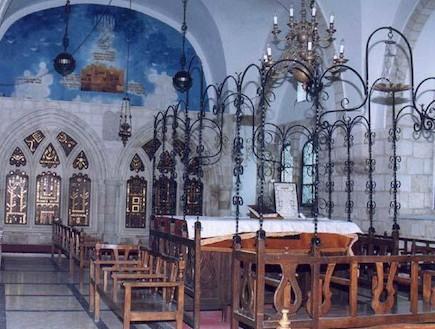 ארבעת בתי הכנסת הספרדיים -בירושלים (צילום: מירב כהן -ראשית ירושלים)