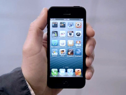 אייפון 5 (צילום: The Verge)