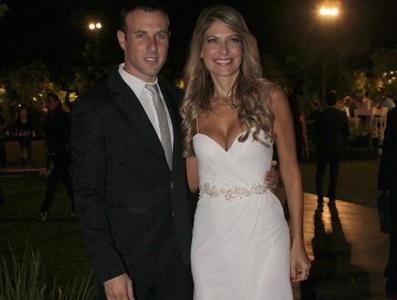 חתונה דפנה שחר (צילום: ראובן שניידר )