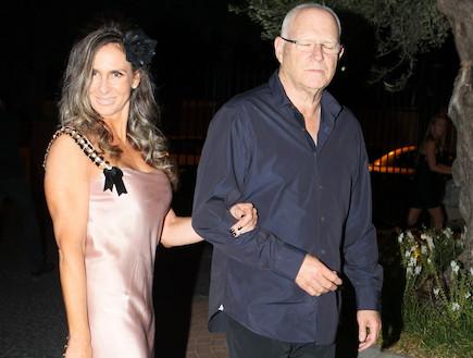 חתונה דפנה שחר- לאה שנירר ובעלה (צילום: ראובן שניידר )