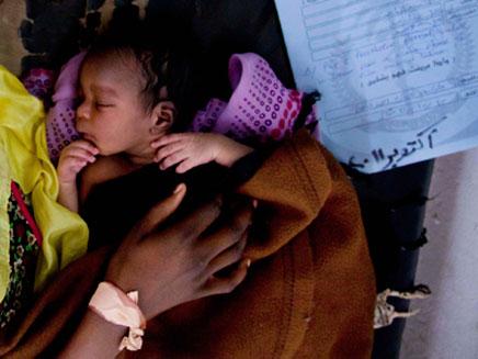שיא בלידות אפריקנים באיכילוב. ארכיון (צילום: רויטרס)