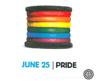 פרסומות גאות 2012 - Oreo-Pride-Cookie-Kraft-Foods (צילום: glaad)