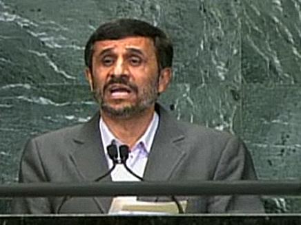 אחמדינג'אד (צילום: חדשות 2)