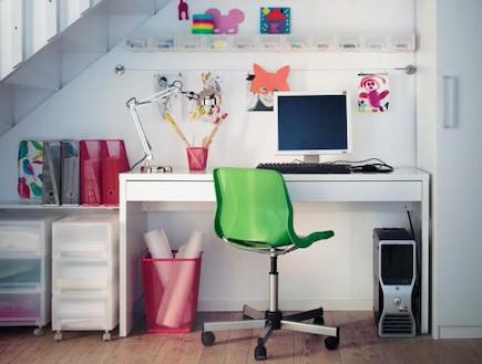 IKEA Workspace Organization Ideas (צילום: מתוך האתר של איקאה)