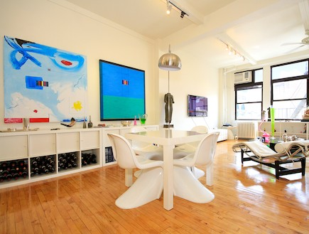 דירה יוקרתית בניו יורק (צילום: מתוך האתר www.airbnb.com)