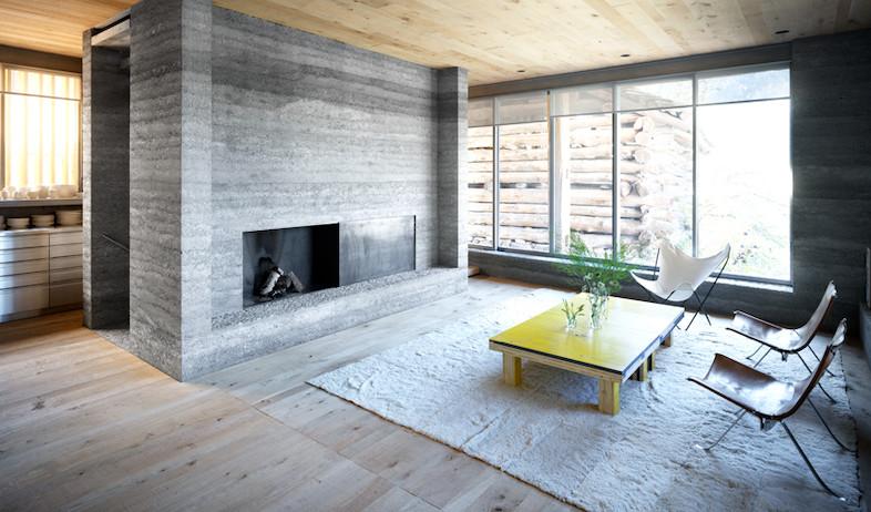 סלון (צילום: Courtesy of Ruinelli Associati Architetti)