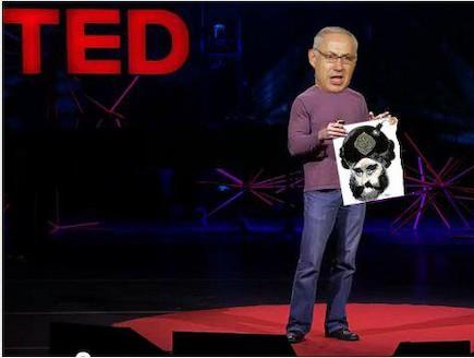 נואם ב-Ted(קרדיט: Amir Schiby)