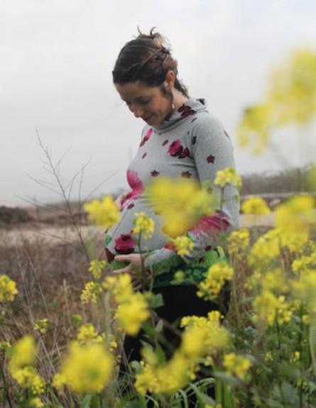 ענבל הרפז בהריון (צילום: לירון ברייר)