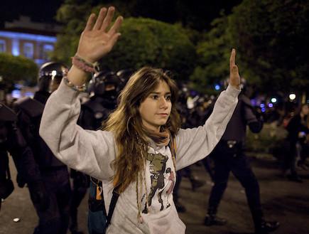 מהומות אלימות במדריד, ספרד
