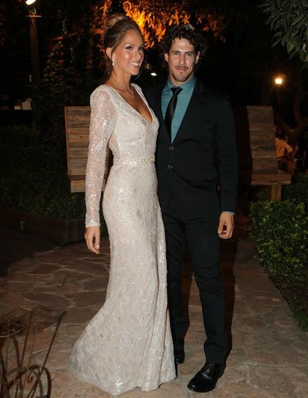 איילה וטומי החתונה (צילום: ראובן שניידר )