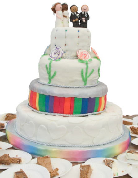 נישואים גאים (צילום: אימג'בנק / Thinkstock)