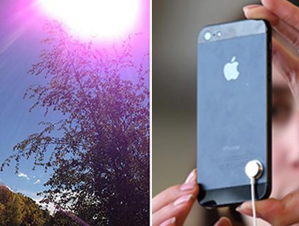 צילום עם אייפון 5 (צילום: אילוסטרציה)
