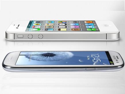 גלקסי S3, אייפון 5