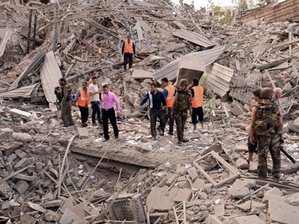 התקשורת חזרה לסוריה (צילום: AP)
