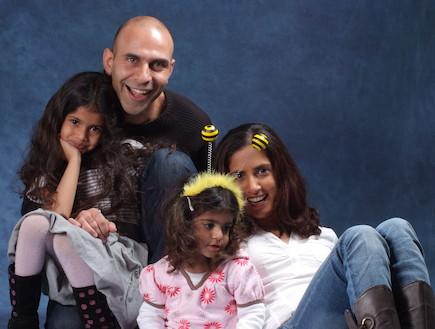 אבות במשרה מלאה - משפחת הראל (צילום: משה כהן)