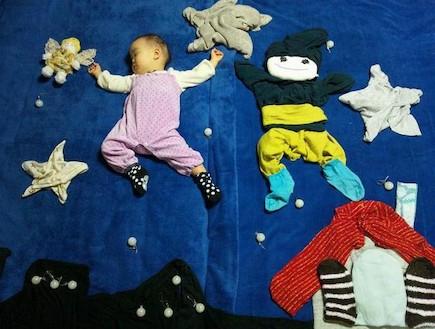 נונו ישנה - בין הכוכבים (צילום: צילום מסך מהאתר via.me)