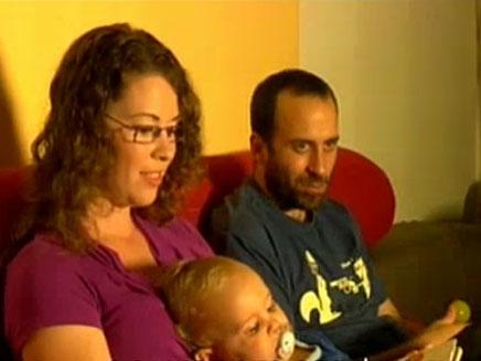 צפו: בני זוג שהצליחו לגשר על הפער הדתי (צילום: חדשות 2)