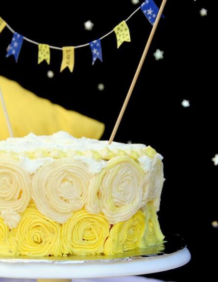 עוגה צהובה