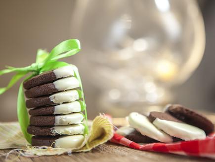 עוגיות שוקולד שחור ולבן (צילום: בני גם זו לטובה, אוכל טוב)