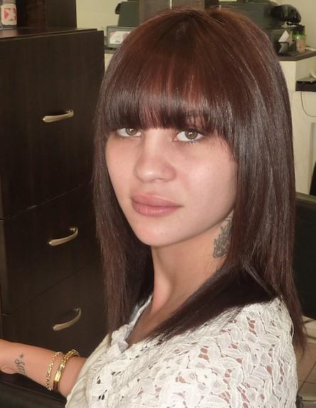 שרי שימחוב בלוק שיער חדש (צילום: ברק פכטר)