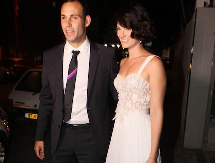 חתונה עדי נוימן ואבי יחיאל (צילום: ראובן שניידר )