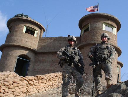 הבסיס האווירי בבגראם (צילום: http://washingtonindependent.com)