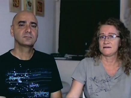 """הוריו של גלעד וטורי ז""""ל החליטו לתרום איבריו (צילום: חדשות 2)"""