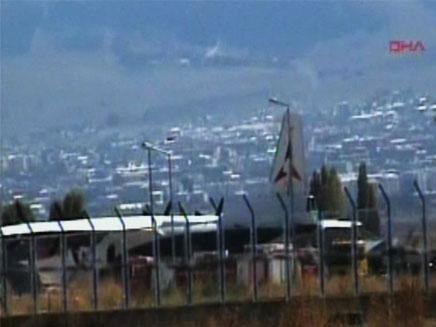 המטוס הארמני, היום (צילום: חדשות 2)