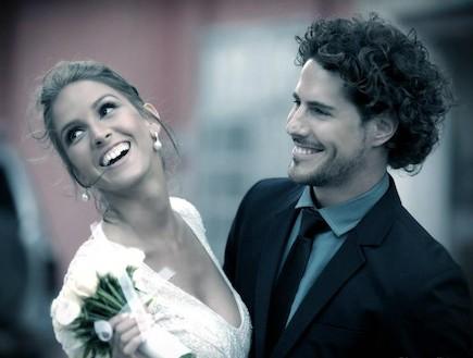 איילה רשף וטומי אלתגר- החתונה (צילום: אילן סימן טוב)