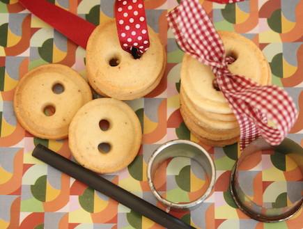 עוגיות כפתורים (צילום: פז אלסטר, Cake It Easy)