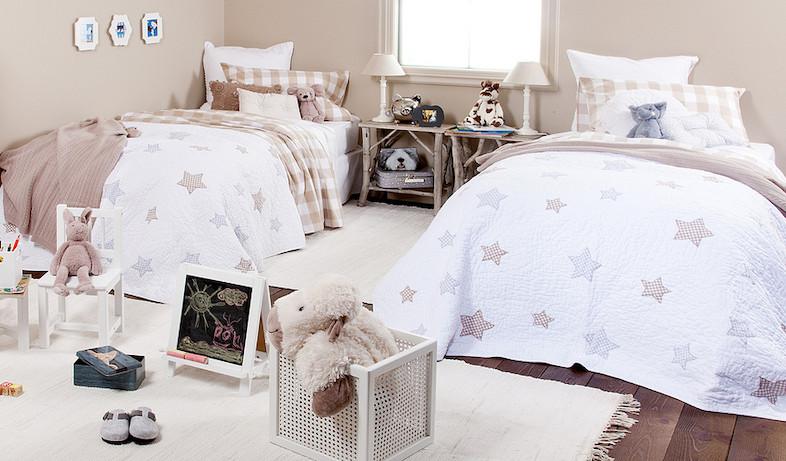 חדר חום לבן (צילום: מתוך האתר - zarahome.com)