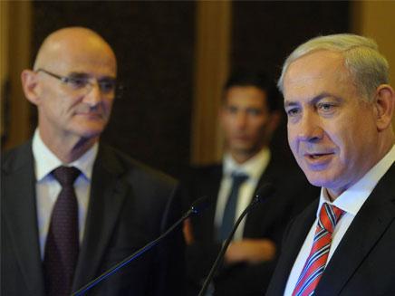 נתניהו ושגריר האיחוד האירופי בישראל (צילום: חדשות 2)